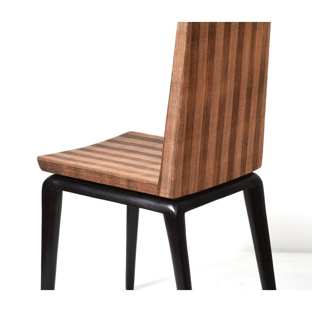 Wood Early Ria & Yiouri Augousti Occasional Chair, 1990s For Sale - Image 7 of 10