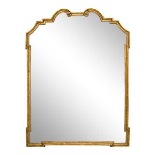 Regency Gilt-Wood Designer Mirror by Randy Esada For Sale