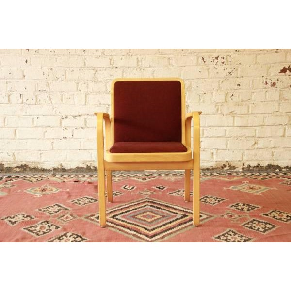 Danish Modern Armchairs by ICF Finland - Set of 8 - Image 5 of 9