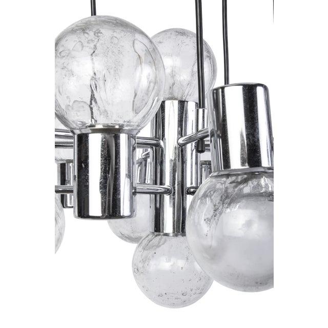 Doria Mid-Century Modernist Chandelier For Sale - Image 4 of 6