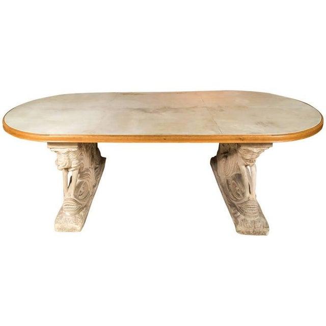 Maison Jansen Dolphin Motif Table For Sale - Image 10 of 13