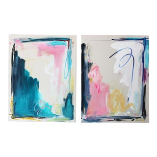 Remaster Duo Canvas Diptych Painting