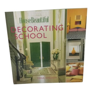 House Beautiful Decorating School Book by Tessa Evelegh For Sale