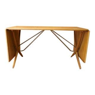 1950s Mid Century Modern Hans Wegner Dining Table For Sale