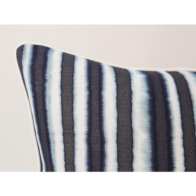 Not Yet Made - Made To Order Blue Baxter Ombre Pillows, a Pair For Sale - Image 5 of 8