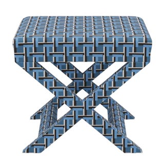 X Bench in Weave For Sale