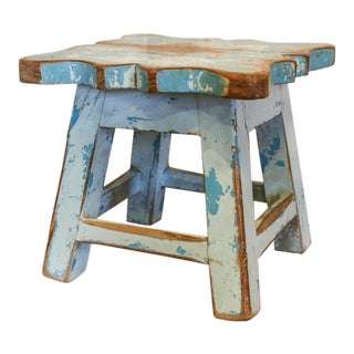 Azul Low Stool For Sale
