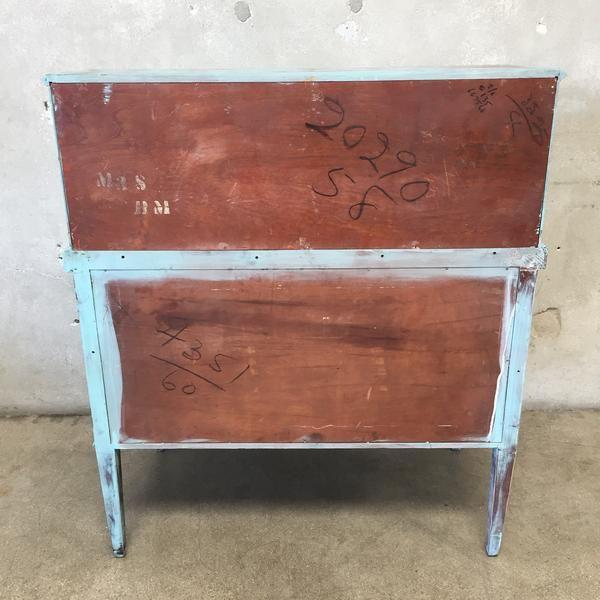 Restored Federal Style Secretary Desk - Image 10 of 10