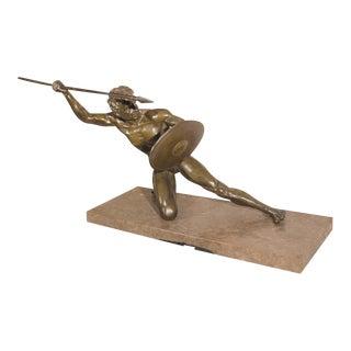 French Art Deco Bronze Sculpture i