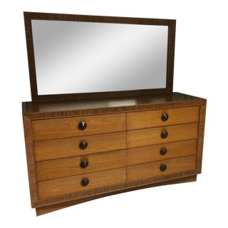 Paul Frankl for Brown Saltman Dresser & Mirror