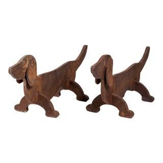 Handirons Dog France Circa 1930.