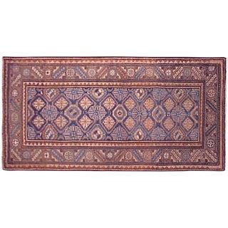 1920s Antique Persian Hamadan Rug - 6′3″ × 3′3″ For Sale