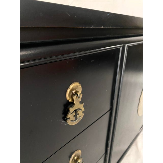 Mid 20th Century Mid Century Kent Coffey Chinoiserie Pagoda Credenza For Sale - Image 5 of 13