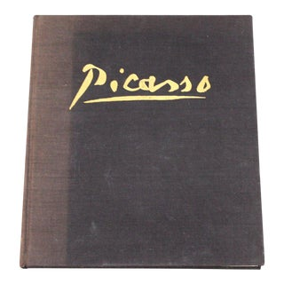 1962 Mid-Century Modern Picasso Art Book by Keith Sutton For Sale