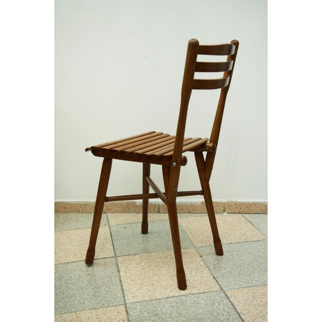 Traditional Antique garden chair by J. & J. Kohn, 1900 For Sale - Image 3 of 11