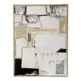 "Image of Josh Young Design House ""Paris, 1932"" Framed Painting For Sale"