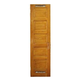 Single Oak Door