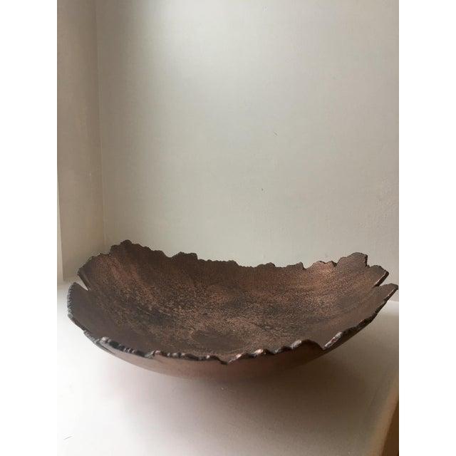 Vintage Brutalist Jagged Edge Bowl - Image 3 of 4