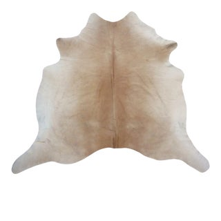Neutral Cowhide Rug From Brazil For Sale