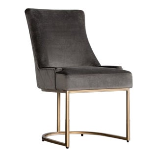 Contemporary SUNPAN Taupe Dining Chair For Sale