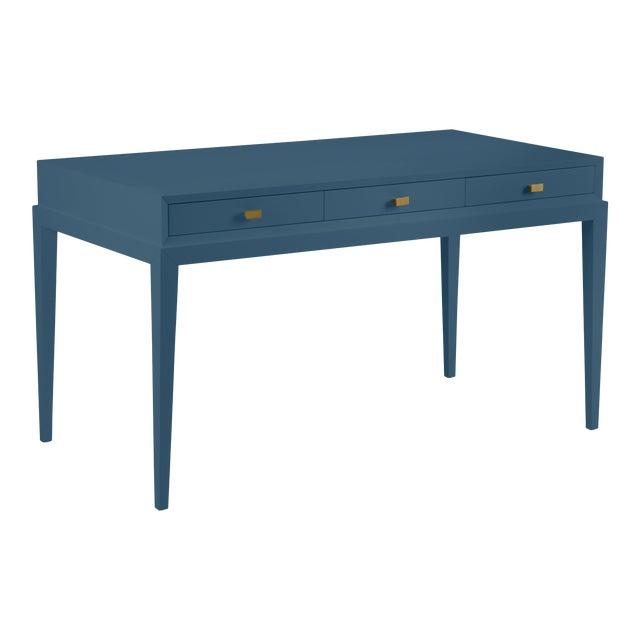 Casa Cosima Hayes Desk, Van Deusen Blue For Sale