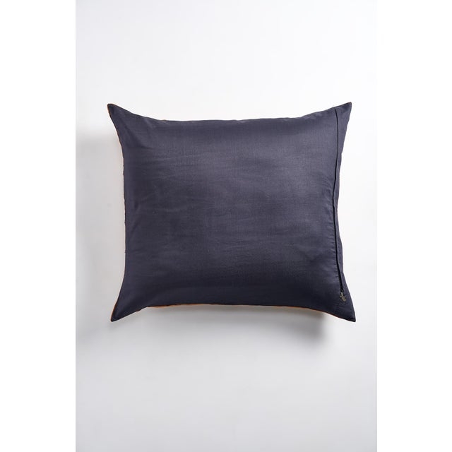 Large Suzani Pillow With Filler - Image 3 of 5