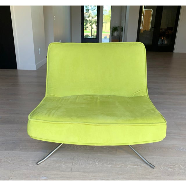 Ligne Roset Pop Chair and Ottoman by Christian Werner For Sale In Las Vegas - Image 6 of 9