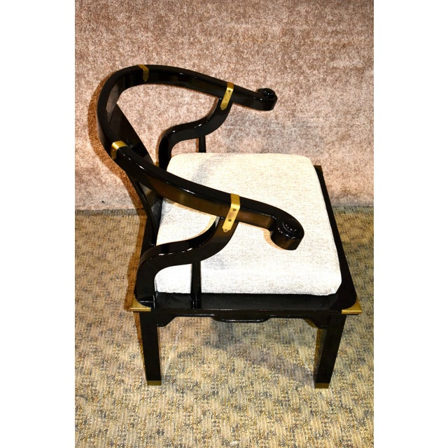 1980s Pallavisini Asian Style Italian Chair For Sale - Image 10 of 12