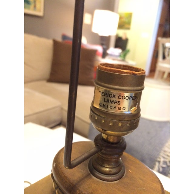 Frederick Cooper MCM Table Lamp - Image 5 of 7