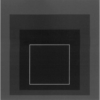 Josef Albers Homage to the Square Serigraph/Silkscreen Print Framed, 1968 For Sale