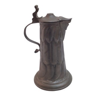 1900s Pewter Tankard For Sale