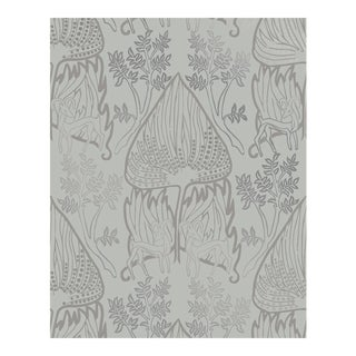 Arabian Nights Gray Wallpaper - 1 Double Roll For Sale