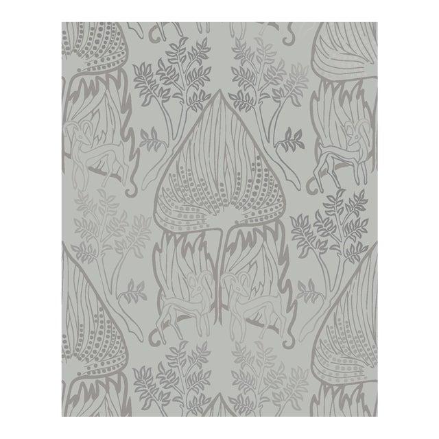 Arabian Nights Gray Wallpaper - 1 Double Roll For Sale