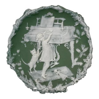 Early 20th Century Green Jasper Dish For Sale