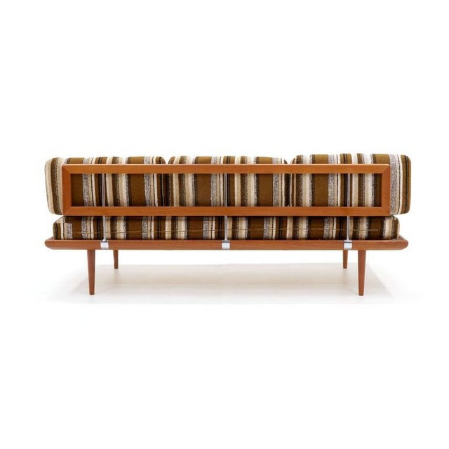 Three-Piece Peter Hvidt & Orla Mølgaard-Nielsen Sofa/Daybed and Pair of Settees - Image 3 of 10