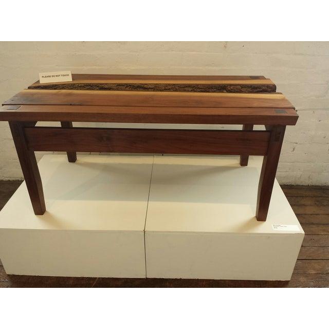 Custom Walnut Coffee Table - Image 4 of 4