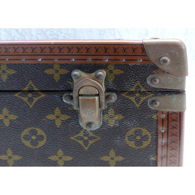 Louis Vuitton Louis Vuitton Hard Case Suitcase, 1950s For Sale - Image 4 of 11