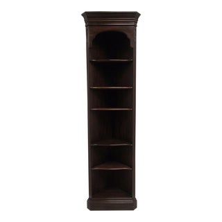 Ethan Allen Georgian Court Chippendale Corner Shelf