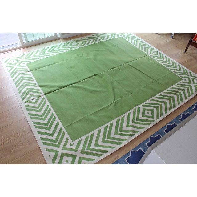 Madeline Weinrib Green Darlington Rug - 8' x 10' - Image 5 of 8
