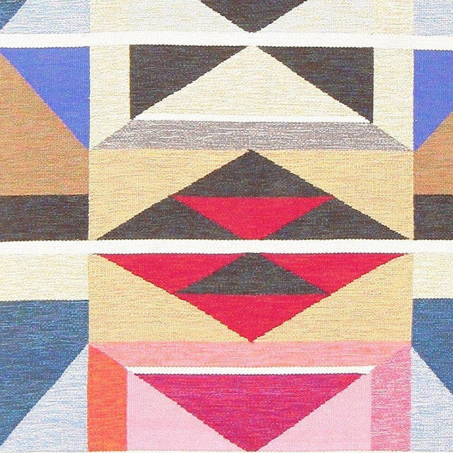 Mid 20th Century Vintage Swedish Runner Rug by Agda Österberg For Sale - Image 5 of 8