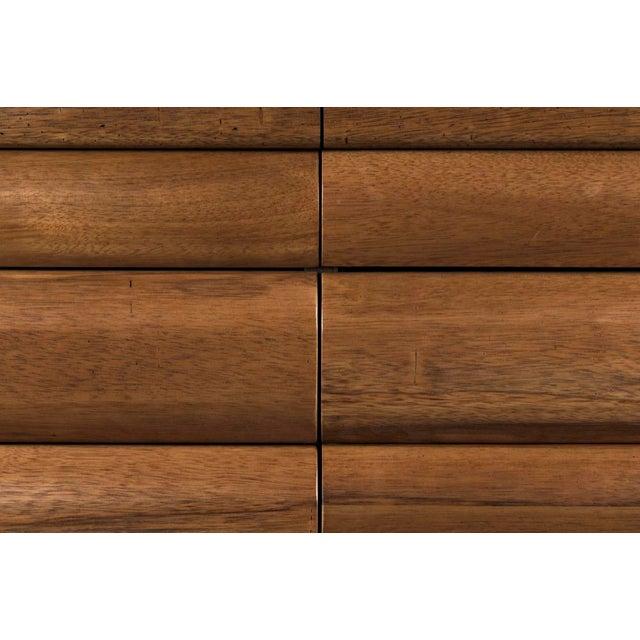 sideboard, dark walnut sideboard, walnut sideboard, noir sideboard, dark walnut, walnut, 6 drawer sideboard