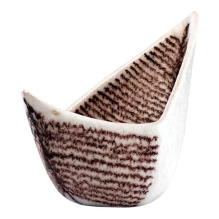 Italian Ceramic Vessel by Guido Gambone For Sale
