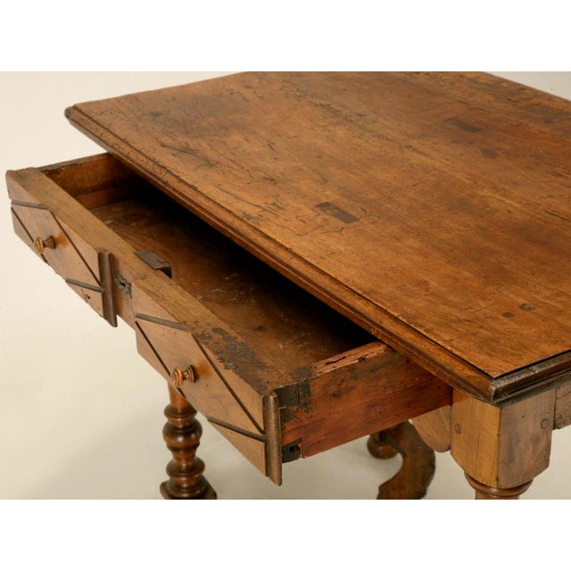 18th C. Antique French Fruitwood Writing Table For Sale In Chicago - Image 6 of 11