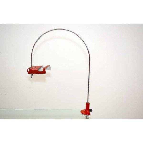 Mid-Century Modern Mid Century Modern Joe Colombo Spider Desk Table Lamp For Sale - Image 3 of 7