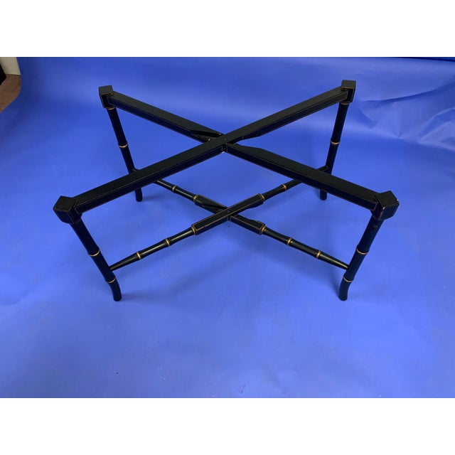 Chinoiserie Chinoiserie Folding / Coffee Tray Table For Sale - Image 3 of 7