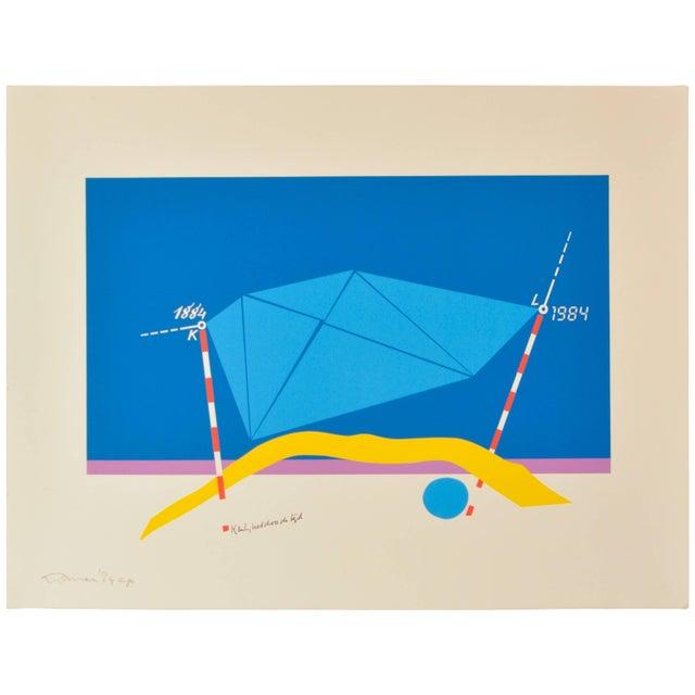 "Jan Loman (Bolsward Netherlands, 1919-2006) Lithograph, artist proof, signed, 1984 Measures: Height 19.5"" Width 25.5"" Jan..."