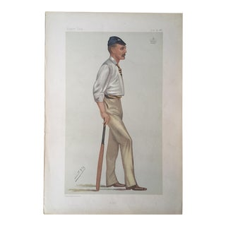 Antique Caricature of Lord Harris From Vanity Fair