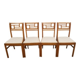 1940s Vintage John Stuart Dining Chairs- Set of 4 For Sale