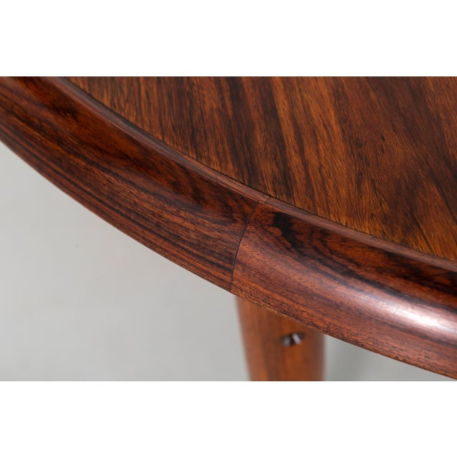 1960s Kurt Ostervig Mid-Century Modern Rosewood Coffee Table For Sale - Image 5 of 8