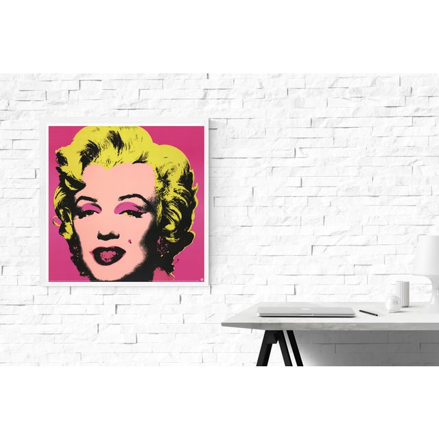 Andy Warhol 1999 Small Marilyn Pink Poster by Andy Warhol For Sale - Image 4 of 4
